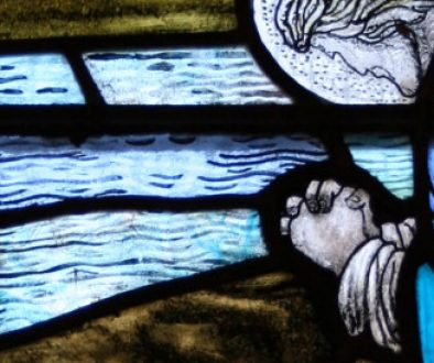 Image- Portree Parish Church stained glass window