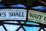 Portree Parish Church stained glass window