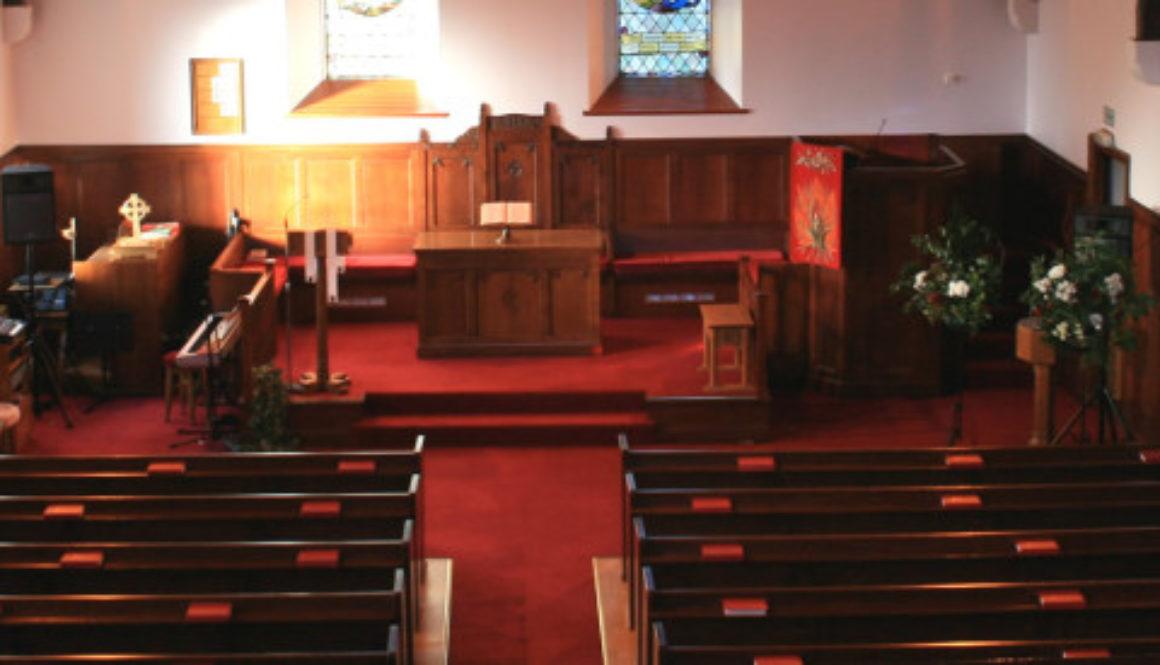 Portree Parish Church interior