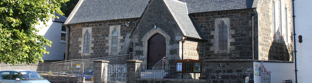 Portree Parish Church Exterior