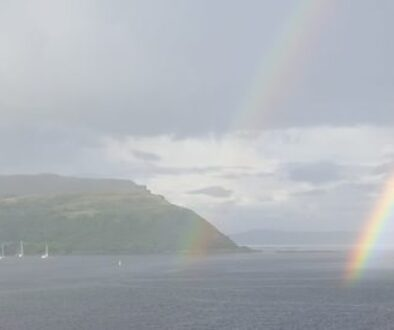rainbow-portree-skye-church