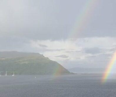 rainbow-portree-skye-church